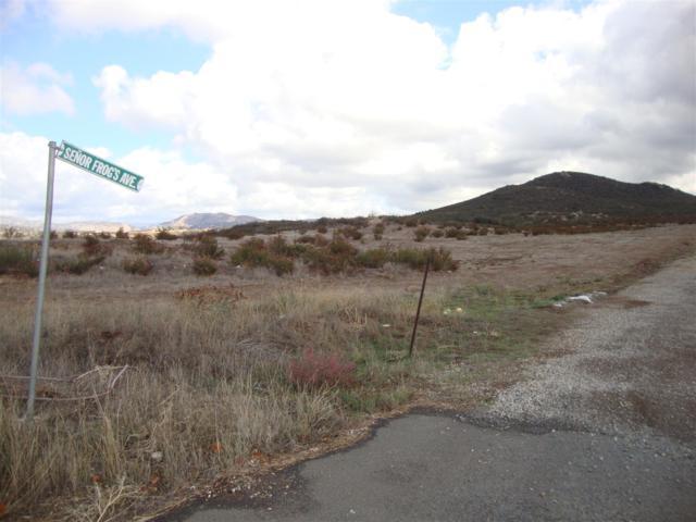 0000 Potrero Valley Road B, Potrero, CA 91963 (#170029459) :: Keller Williams - Triolo Realty Group
