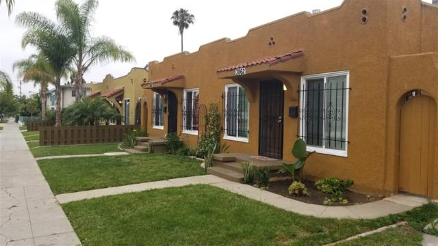 3860-64 Wilson Avenue, San Diego, CA 92104 (#170030843) :: Keller Williams - Triolo Realty Group