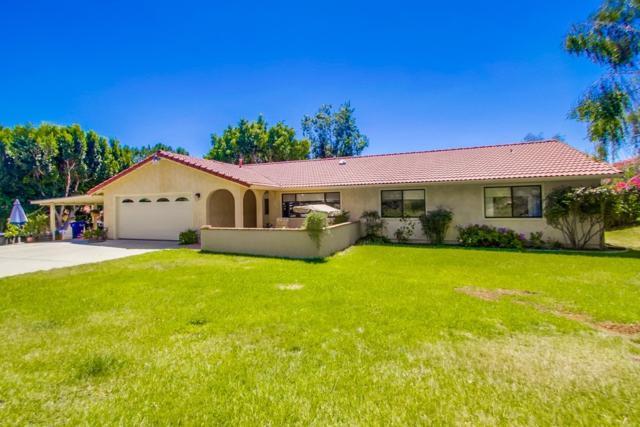 1270 Valentine Ln, Fallbrook, CA 92028 (#170033722) :: Allison James Estates and Homes