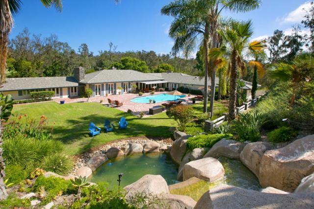 5489 Calle Chaparro, Rancho Santa Fe, CA 92067 (#170044178) :: Coldwell Banker Residential Brokerage