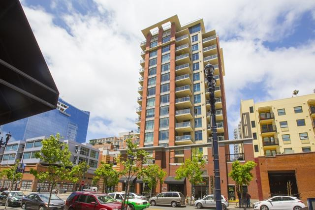 427 9Th Ave #706, San Diego, CA 92101 (#170044413) :: Coldwell Banker Residential Brokerage
