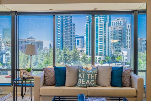 100 Harbor Drive #605, San Diego, CA 92101 (#170052795) :: Teles Properties - Ruth Pugh Group
