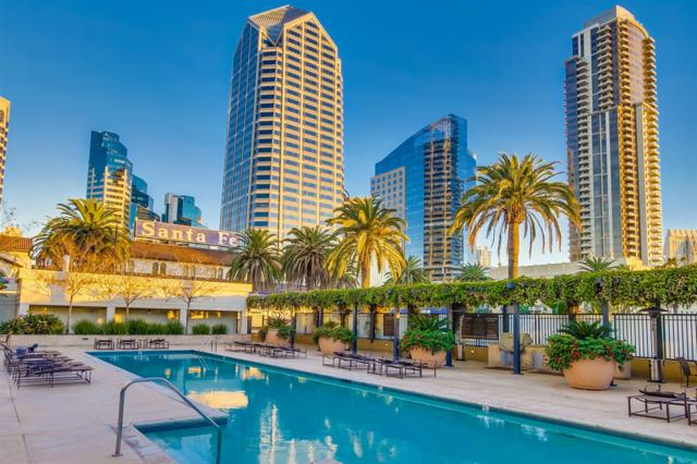 1199 Pacific #1004, San Diego, CA 92101 (#170055144) :: Whissel Realty
