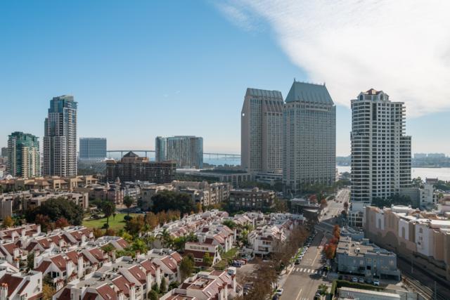 700 W E Street #1605, San Diego, CA 92101 (#170062556) :: Neuman & Neuman Real Estate Inc.