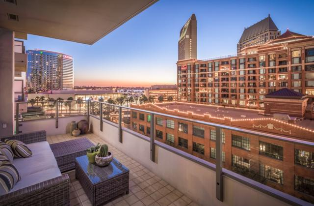 550 Front St #605, San Diego, CA 92101 (#180000227) :: Whissel Realty