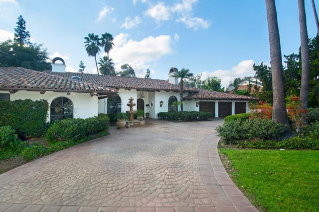 6263 Avenida Loma De Oro, Rancho Santa Fe, CA 92067 (#180002398) :: Neuman & Neuman Real Estate Inc.
