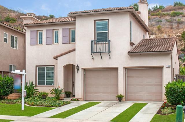 594 Via Del Caballo, San Marcos, CA 92078 (#180002432) :: KRC Realty Services