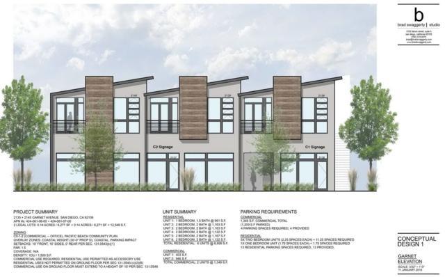 2135 & 2145 Garnet Ave, San Diego, CA 92109 (#180002533) :: Ghio Panissidi & Associates