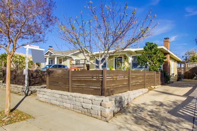 3375 32nd St, San Diego, CA 92104 (#180003327) :: Whissel Realty