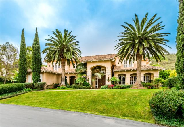 6369 Clubhouse Drive, Rancho Santa Fe, CA 92067 (#180003979) :: The Yarbrough Group