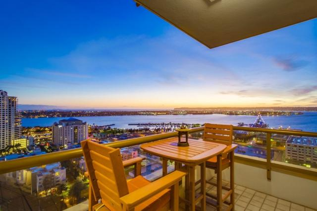 700 W E St #2306, San Diego, CA 92101 (#180004825) :: Whissel Realty