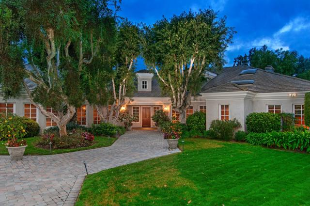 3144 Cerros Redondos, Rancho Santa Fe, CA 92067 (#180007924) :: The Yarbrough Group