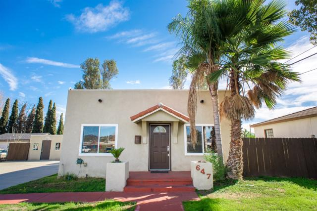647 Claydelle Ave, El Cajon, CA 92020 (#180008646) :: Neuman & Neuman Real Estate Inc.