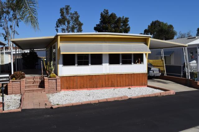 245 W Bobier Drive Spc 73, Vista, CA 92083 (#180009556) :: Jacobo Realty Group