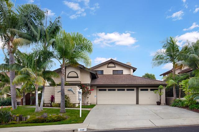 249 Via Palacio, Encinitas, CA 92024 (#180009631) :: Coldwell Banker Residential Brokerage