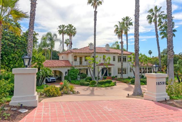 16591 Via Lago Azul, Rancho Santa Fe, CA 92067 (#180009825) :: Coldwell Banker Residential Brokerage