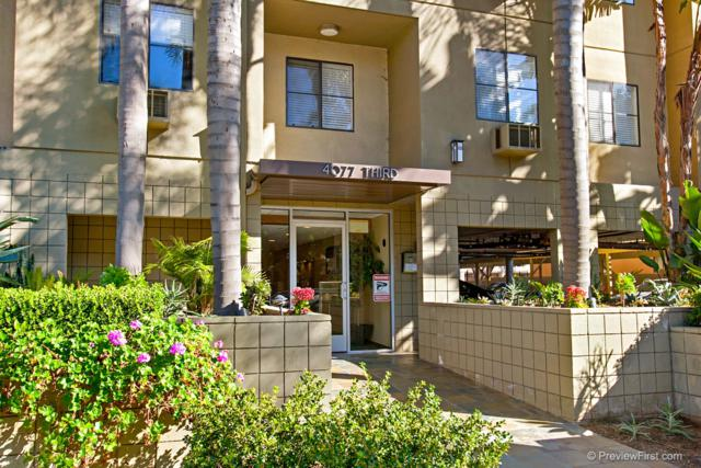 4077 3rd Ave #205, San Diego, CA 92103 (#180011390) :: KRC Realty Services