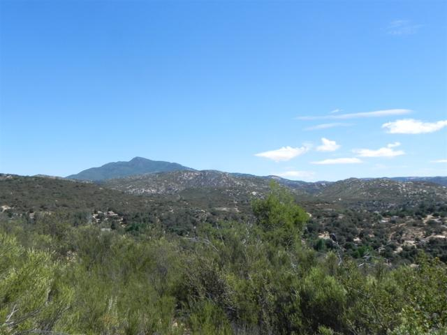 0000 Off Viejas Grade Parcel 1 Of Pm , Descanso, CA 91916 (#180015477) :: Coldwell Banker Residential Brokerage