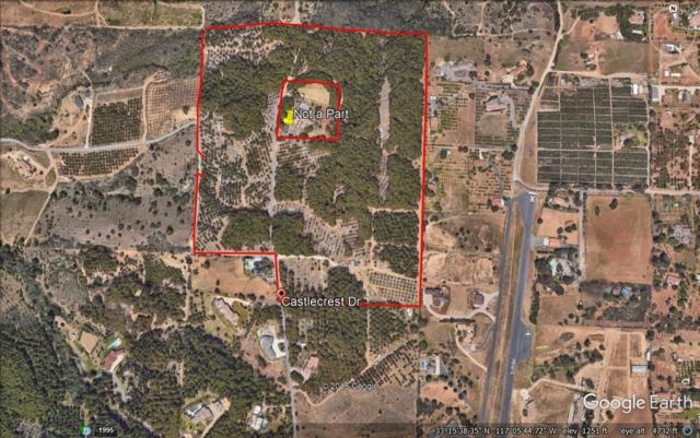 43.5 acres Castlecrest Drive #0, Valley Center, CA 92082 (#180015699) :: Coldwell Banker Residential Brokerage