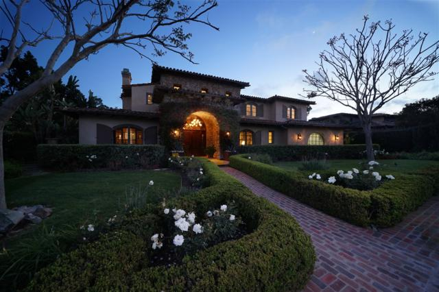 18380 Calle La Serra, Rancho Santa Fe, CA 92091 (#180018144) :: Neuman & Neuman Real Estate Inc.