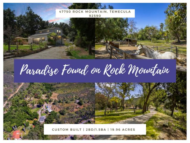47750 Rock Mountain, Temecula, CA 92590 (#180019275) :: Beachside Realty