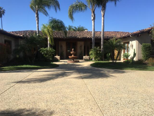 6320 El Sicomoro, Rancho Santa Fe, CA 92067 (#180021033) :: Coldwell Banker Residential Brokerage