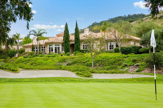 6311 Clubhouse Drive, Rancho Santa Fe, CA 92067 (#180025695) :: Ascent Real Estate, Inc.