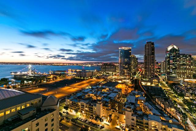 700 W Harbor Drive #2402, San Diego, CA 92101 (#180026238) :: Hometown Realty