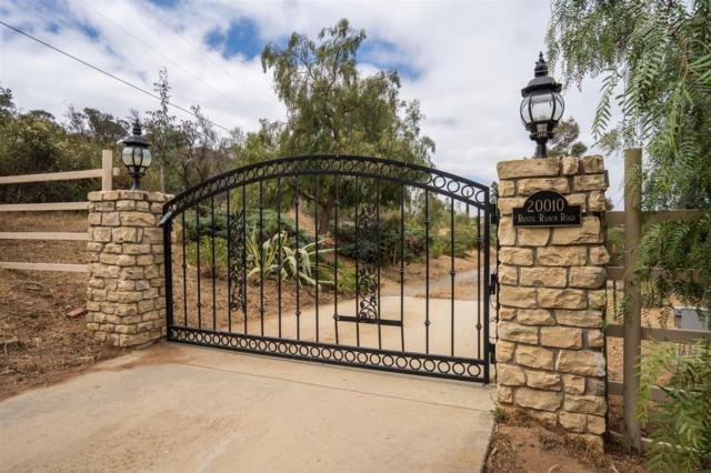 20010 Rustic Ranch Road, Ramona, CA 92065 (#180027441) :: The Yarbrough Group
