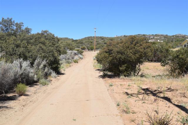 00 Buckman Springs Rd B, Campo, CA 91906 (#180029502) :: Ascent Real Estate, Inc.
