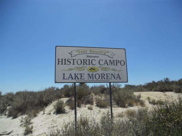 33253 Shockey Truck Trail, Campo, CA 91906 (#180030925) :: Ascent Real Estate, Inc.