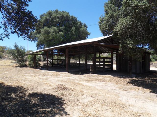 Barn on Lot Lillie Lane #37, Boulevard, CA 91905 (#180032294) :: The Houston Team | Compass