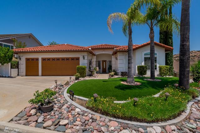 15543 Vista Vicente Drive, Ramona, CA 92065 (#180033446) :: Ghio Panissidi & Associates