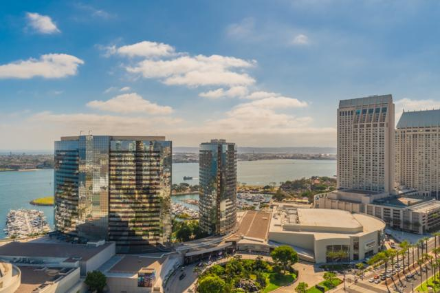 100 Harbor Drive #2704, San Diego, CA 92101 (#180033919) :: Ascent Real Estate, Inc.