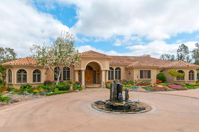 16651 Via De Los Rosales, Rancho Santa Fe, CA 92067 (#180034123) :: KRC Realty Services