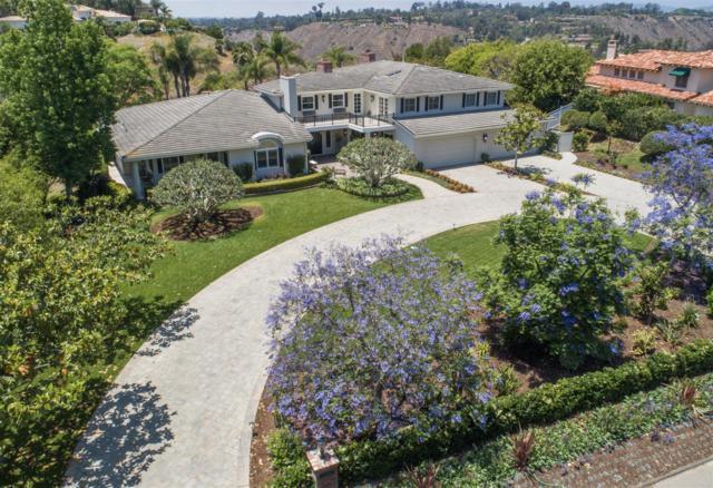 6155 Avenida Cuatro Vientos, Lot 349, Rancho Santa Fe, CA 92067 (#180034525) :: Beachside Realty