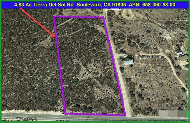 4.83 Acres Tierra Del Sol Rd #58, Boulevard, CA 91905 (#180036592) :: Impact Real Estate