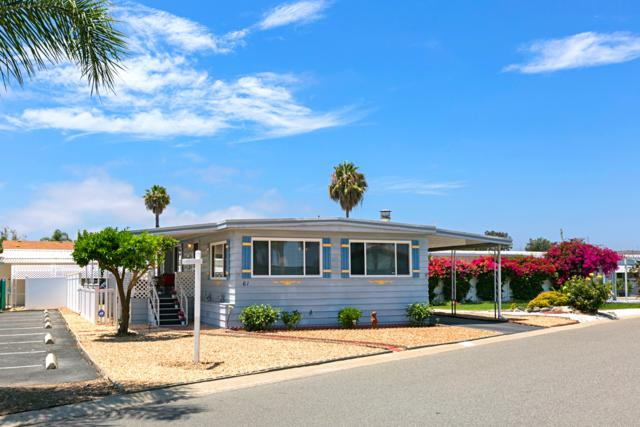 200 N El Camino Real #61, Oceanside, CA 92058 (#180040180) :: eXp Realty of California Inc.