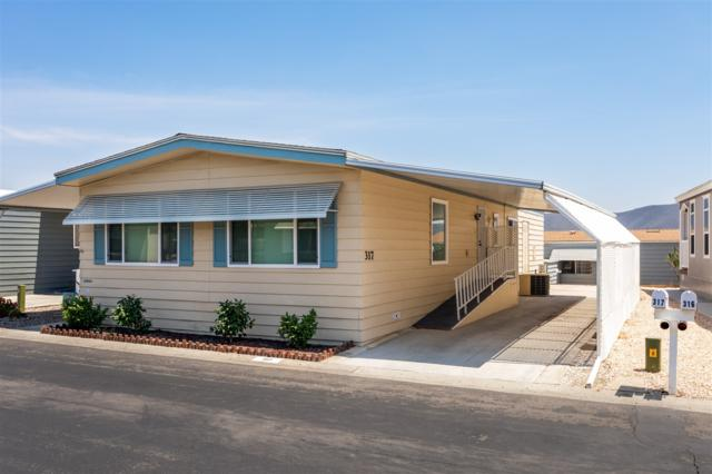 650 S Rancho Santa Fe Road #317, San Marcos, CA 92078 (#180041952) :: Keller Williams - Triolo Realty Group