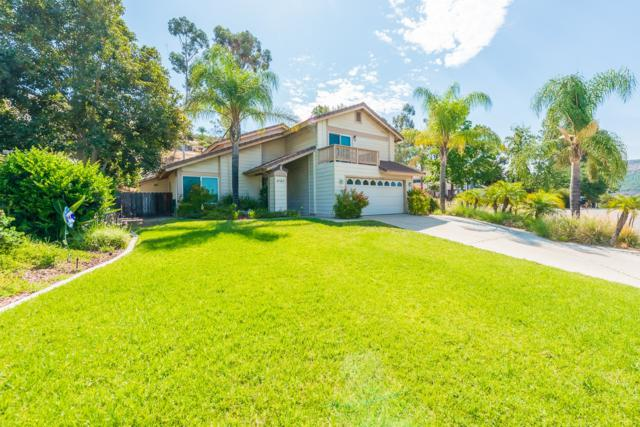 9193 Vista Entrada, Lakeside, CA 92040 (#180042621) :: The Yarbrough Group