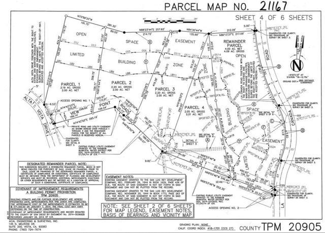 4 lots Alta Vista #1, Fallbrook, CA 92028 (#180046533) :: The Marelly Group | Compass
