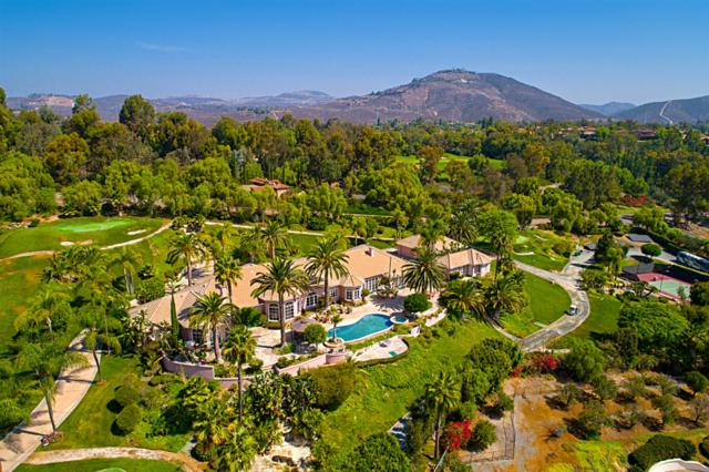 6676 Las Arboledas, Rancho Santa Fe, CA 92067 (#180049133) :: Coldwell Banker Residential Brokerage