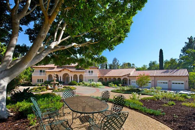 17335 Calle Mayor, Rancho Santa Fe, CA 92067 (#180049338) :: The Yarbrough Group