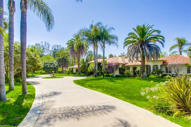 6036 San Elijo, Rancho Santa Fe, CA 92067 (#180050817) :: Douglas Elliman - Ruth Pugh Group