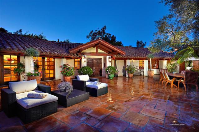 16204 Los Arboles, Rancho Santa Fe, CA 92067 (#180051997) :: The Yarbrough Group