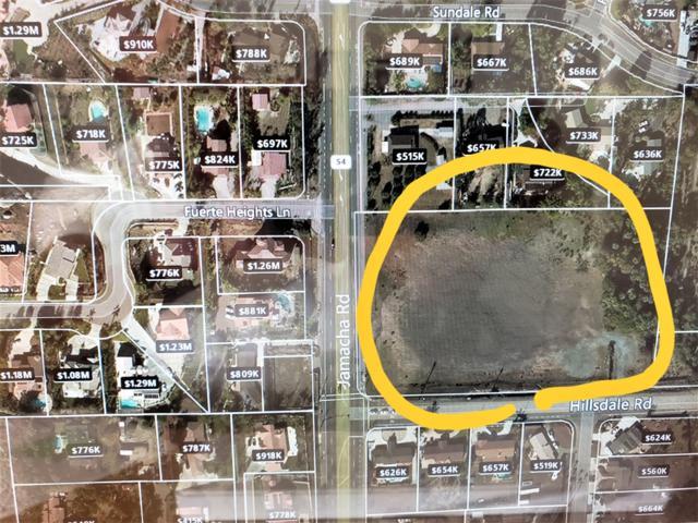 0 Hillsdale #0, El Cajon, CA 92019 (#180052697) :: Neuman & Neuman Real Estate Inc.
