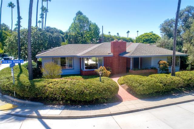 355 Via Del Norte, La Jolla, CA 92037 (#180056403) :: Whissel Realty
