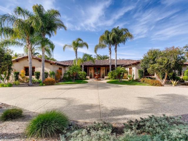 6320 El Sicomoro, Rancho Santa Fe, CA 92067 (#180057200) :: KRC Realty Services