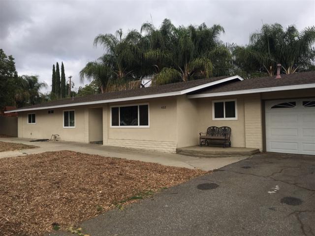 452 Paso Del Norte, Escondido, CA 92026 (#180057371) :: Neuman & Neuman Real Estate Inc.