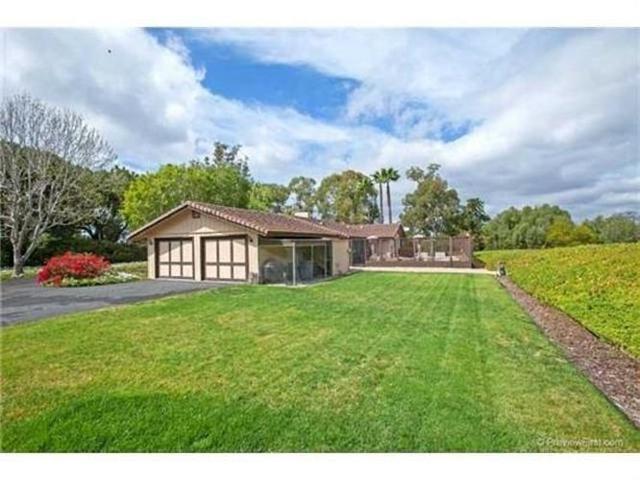 6923 La Valle Plateada, Rancho Santa Fe, CA 92067 (#180059913) :: Ascent Real Estate, Inc.